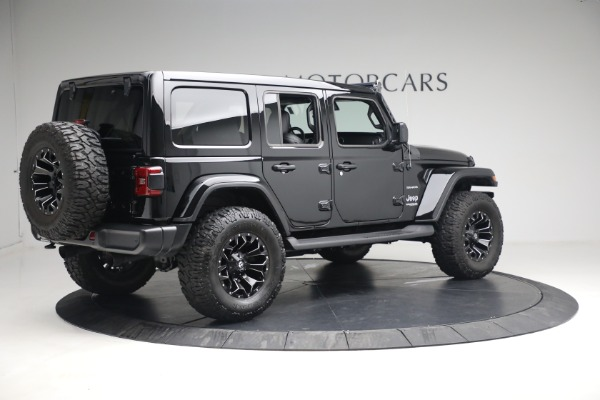 Used 2020 Jeep Wrangler Unlimited Sahara for sale Sold at Alfa Romeo of Greenwich in Greenwich CT 06830 10