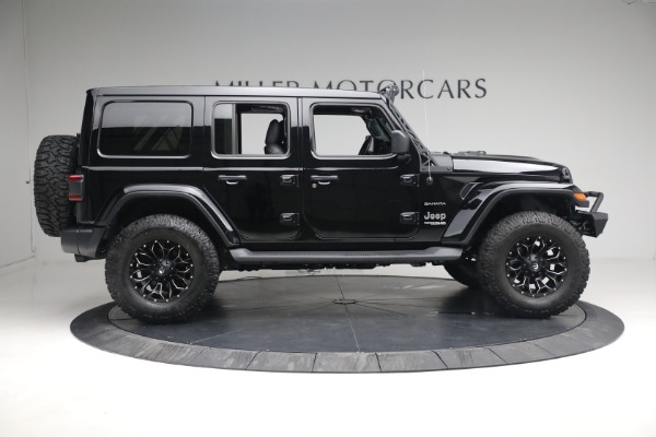 Used 2020 Jeep Wrangler Unlimited Sahara for sale Sold at Alfa Romeo of Greenwich in Greenwich CT 06830 11