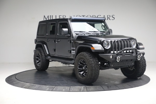 Used 2020 Jeep Wrangler Unlimited Sahara for sale Sold at Alfa Romeo of Greenwich in Greenwich CT 06830 13