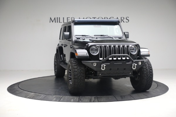 Used 2020 Jeep Wrangler Unlimited Sahara for sale Sold at Alfa Romeo of Greenwich in Greenwich CT 06830 14