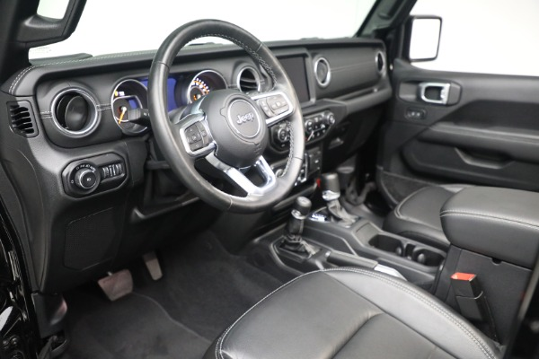 Used 2020 Jeep Wrangler Unlimited Sahara for sale Sold at Alfa Romeo of Greenwich in Greenwich CT 06830 19