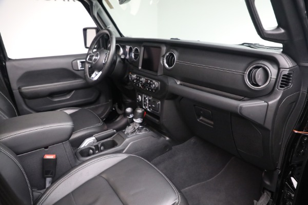 Used 2020 Jeep Wrangler Unlimited Sahara for sale Sold at Alfa Romeo of Greenwich in Greenwich CT 06830 20