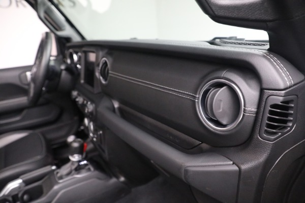 Used 2020 Jeep Wrangler Unlimited Sahara for sale Sold at Alfa Romeo of Greenwich in Greenwich CT 06830 21