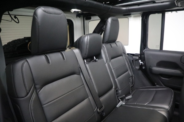 Used 2020 Jeep Wrangler Unlimited Sahara for sale Sold at Alfa Romeo of Greenwich in Greenwich CT 06830 24