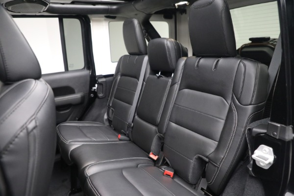 Used 2020 Jeep Wrangler Unlimited Sahara for sale Sold at Alfa Romeo of Greenwich in Greenwich CT 06830 25