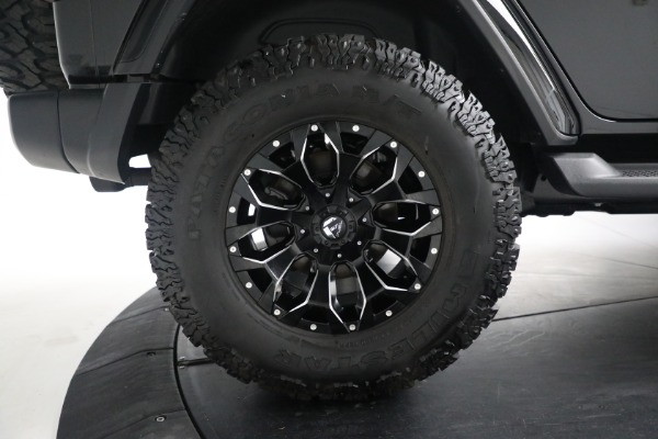 Used 2020 Jeep Wrangler Unlimited Sahara for sale Sold at Alfa Romeo of Greenwich in Greenwich CT 06830 27