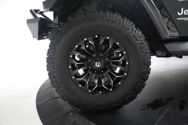 Used 2020 Jeep Wrangler Unlimited Sahara for sale Sold at Alfa Romeo of Greenwich in Greenwich CT 06830 28