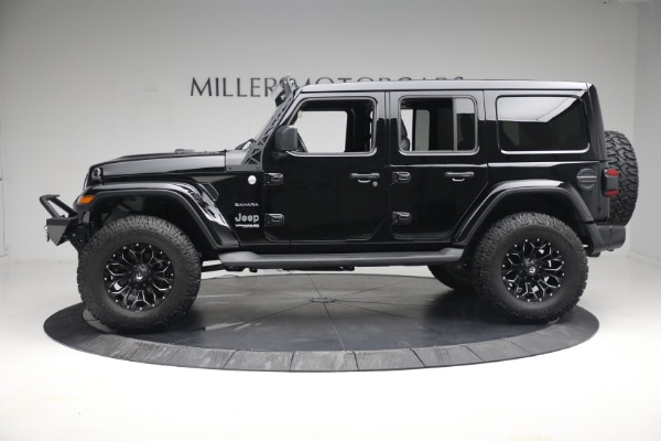 Used 2020 Jeep Wrangler Unlimited Sahara for sale Sold at Alfa Romeo of Greenwich in Greenwich CT 06830 4