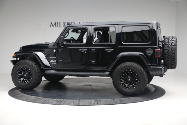 Used 2020 Jeep Wrangler Unlimited Sahara for sale Sold at Alfa Romeo of Greenwich in Greenwich CT 06830 5