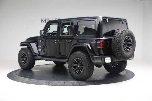 Used 2020 Jeep Wrangler Unlimited Sahara for sale Sold at Alfa Romeo of Greenwich in Greenwich CT 06830 6