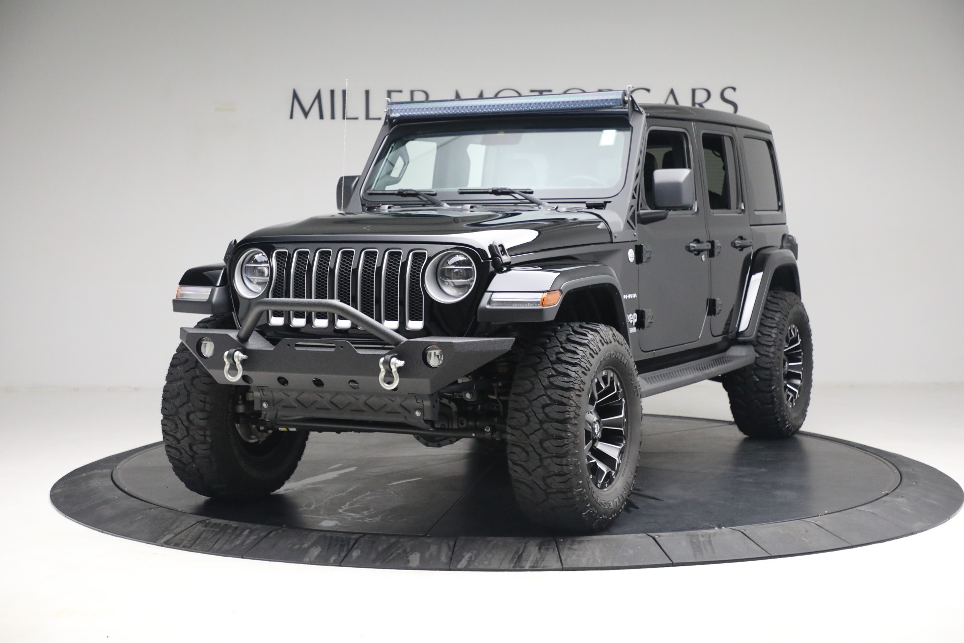 Used 2020 Jeep Wrangler Unlimited Sahara for sale Sold at Alfa Romeo of Greenwich in Greenwich CT 06830 1