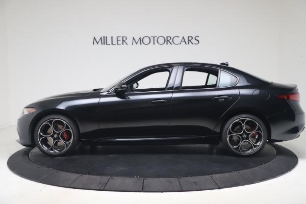 New 2022 Alfa Romeo Giulia Veloce for sale $52,045 at Alfa Romeo of Greenwich in Greenwich CT 06830 3