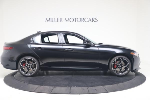 New 2022 Alfa Romeo Giulia Veloce for sale $52,045 at Alfa Romeo of Greenwich in Greenwich CT 06830 9