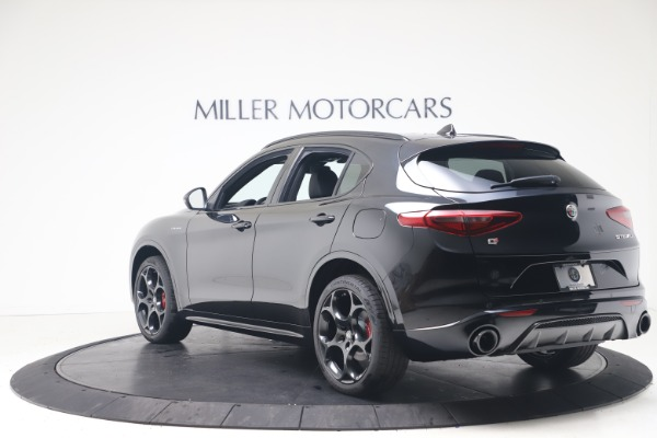 New 2022 Alfa Romeo Stelvio Veloce for sale Sold at Alfa Romeo of Greenwich in Greenwich CT 06830 5