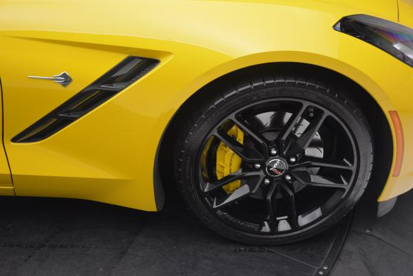 Used 2014 Chevrolet Corvette Stingray Z51 for sale Sold at Alfa Romeo of Greenwich in Greenwich CT 06830 21