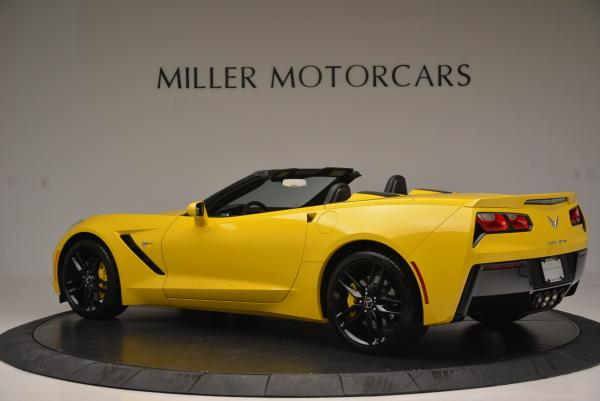 Used 2014 Chevrolet Corvette Stingray Z51 for sale Sold at Alfa Romeo of Greenwich in Greenwich CT 06830 4