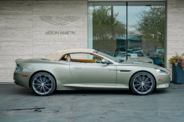 Used 2015 Aston Martin DB9 Volante for sale $119,990 at Alfa Romeo of Greenwich in Greenwich CT 06830 3