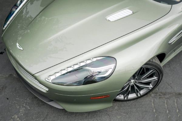 Used 2015 Aston Martin DB9 Volante for sale $119,990 at Alfa Romeo of Greenwich in Greenwich CT 06830 4