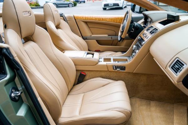 Used 2015 Aston Martin DB9 Volante for sale $119,990 at Alfa Romeo of Greenwich in Greenwich CT 06830 6