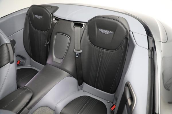 New 2021 Aston Martin DB11 Volante for sale $260,286 at Alfa Romeo of Greenwich in Greenwich CT 06830 19