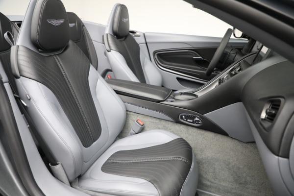 New 2021 Aston Martin DB11 Volante for sale $260,286 at Alfa Romeo of Greenwich in Greenwich CT 06830 22