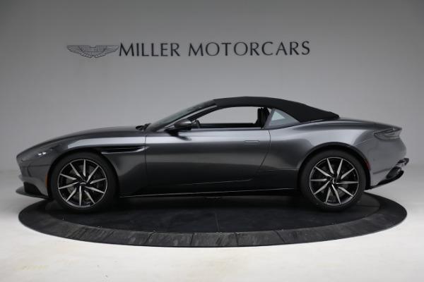 New 2021 Aston Martin DB11 Volante for sale $260,286 at Alfa Romeo of Greenwich in Greenwich CT 06830 24