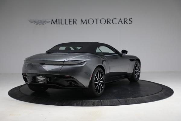 New 2021 Aston Martin DB11 Volante for sale $260,286 at Alfa Romeo of Greenwich in Greenwich CT 06830 26