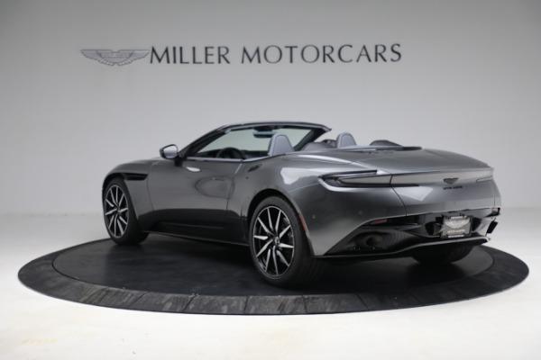 New 2021 Aston Martin DB11 Volante for sale $260,286 at Alfa Romeo of Greenwich in Greenwich CT 06830 6