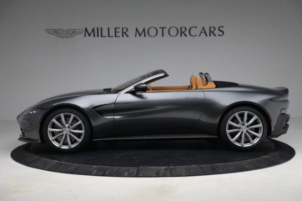 New 2021 Aston Martin Vantage Roadster for sale $174,586 at Alfa Romeo of Greenwich in Greenwich CT 06830 2