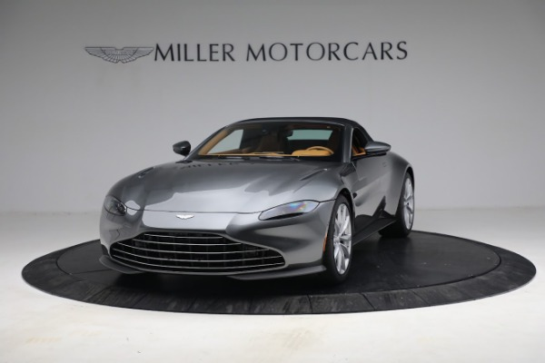 New 2021 Aston Martin Vantage Roadster for sale $174,586 at Alfa Romeo of Greenwich in Greenwich CT 06830 23