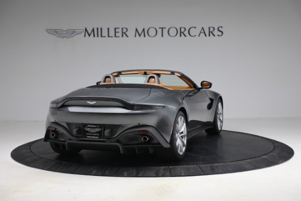 New 2021 Aston Martin Vantage Roadster for sale $174,586 at Alfa Romeo of Greenwich in Greenwich CT 06830 6