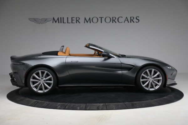 New 2021 Aston Martin Vantage Roadster for sale $174,586 at Alfa Romeo of Greenwich in Greenwich CT 06830 8