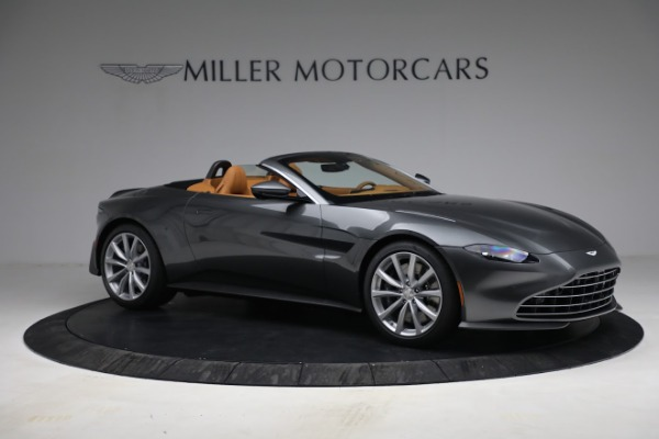 New 2021 Aston Martin Vantage Roadster for sale $174,586 at Alfa Romeo of Greenwich in Greenwich CT 06830 9