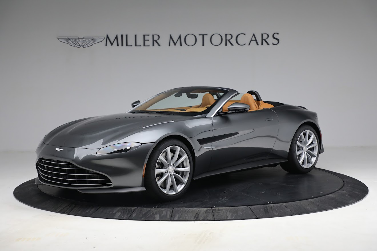 New 2021 Aston Martin Vantage Roadster for sale $174,586 at Alfa Romeo of Greenwich in Greenwich CT 06830 1
