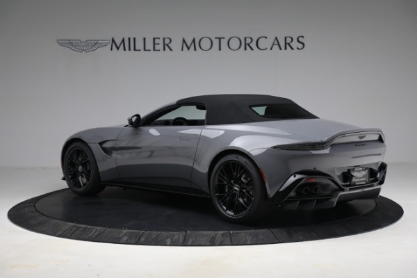 New 2021 Aston Martin Vantage Roadster for sale $180,286 at Alfa Romeo of Greenwich in Greenwich CT 06830 23
