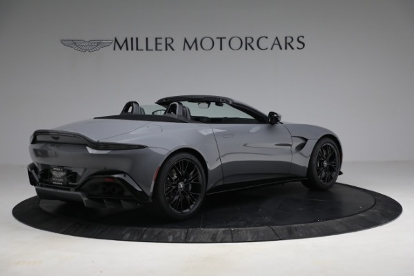 New 2021 Aston Martin Vantage Roadster for sale $180,286 at Alfa Romeo of Greenwich in Greenwich CT 06830 7