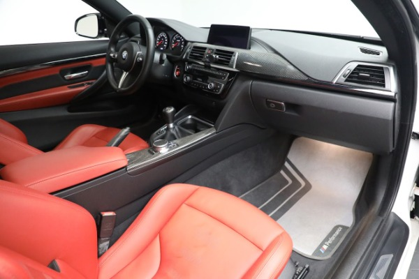 Used 2019 BMW M4 Competition for sale Call for price at Alfa Romeo of Greenwich in Greenwich CT 06830 21
