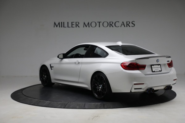 Used 2019 BMW M4 Competition for sale Call for price at Alfa Romeo of Greenwich in Greenwich CT 06830 4
