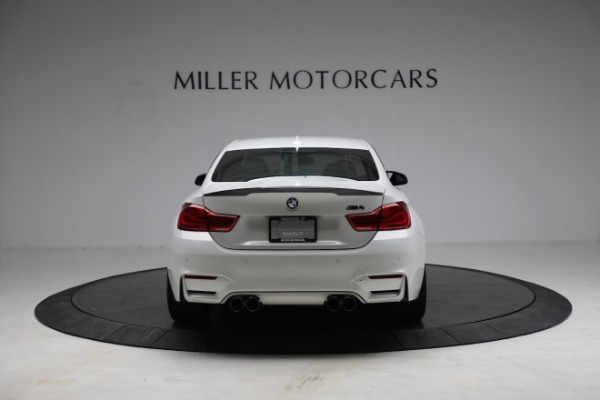Used 2019 BMW M4 Competition for sale Call for price at Alfa Romeo of Greenwich in Greenwich CT 06830 5
