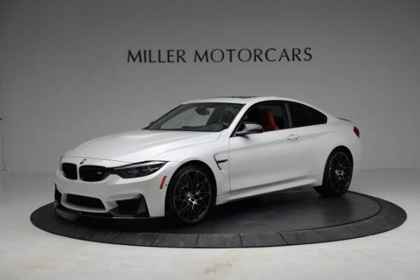 Used 2019 BMW M4 for sale $71,900 at Alfa Romeo of Greenwich in Greenwich CT 06830 1