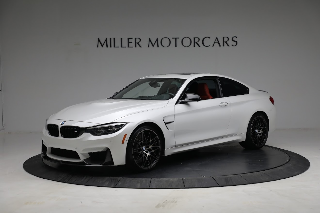 Used 2019 BMW M4 Competition for sale Call for price at Alfa Romeo of Greenwich in Greenwich CT 06830 1