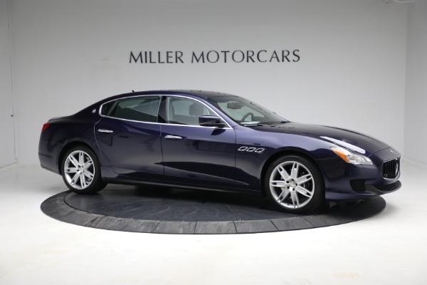 Used 2014 Maserati Quattroporte S Q4 for sale $42,900 at Alfa Romeo of Greenwich in Greenwich CT 06830 12