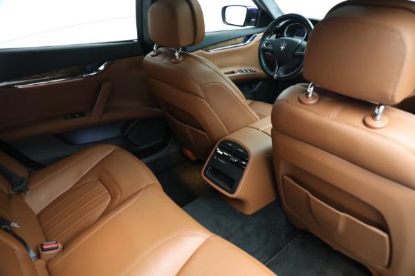 Used 2014 Maserati Quattroporte S Q4 for sale $42,900 at Alfa Romeo of Greenwich in Greenwich CT 06830 19