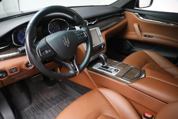 Used 2016 Maserati Quattroporte S Q4 for sale $46,900 at Alfa Romeo of Greenwich in Greenwich CT 06830 13