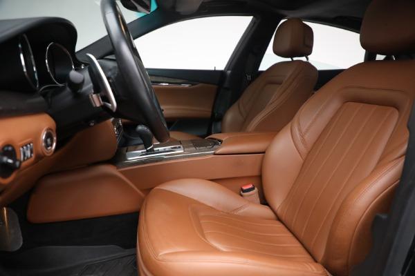 Used 2016 Maserati Quattroporte S Q4 for sale $46,900 at Alfa Romeo of Greenwich in Greenwich CT 06830 14