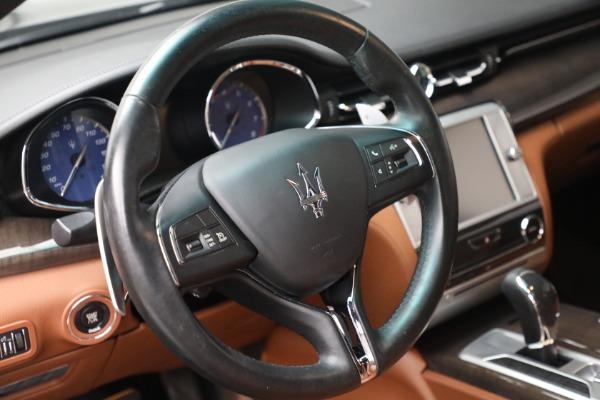 Used 2016 Maserati Quattroporte S Q4 for sale $46,900 at Alfa Romeo of Greenwich in Greenwich CT 06830 17