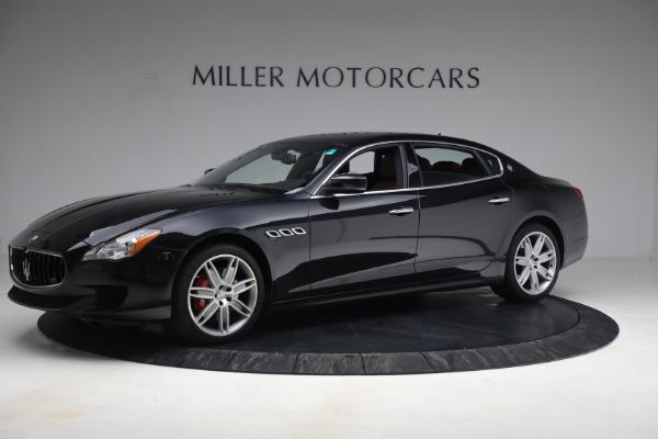 Used 2016 Maserati Quattroporte S Q4 for sale $46,900 at Alfa Romeo of Greenwich in Greenwich CT 06830 2
