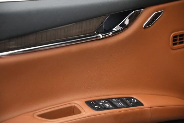 Used 2016 Maserati Quattroporte S Q4 for sale $46,900 at Alfa Romeo of Greenwich in Greenwich CT 06830 21