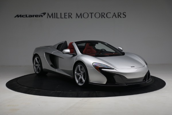 Used 2015 McLaren 650S Spider for sale $179,990 at Alfa Romeo of Greenwich in Greenwich CT 06830 10