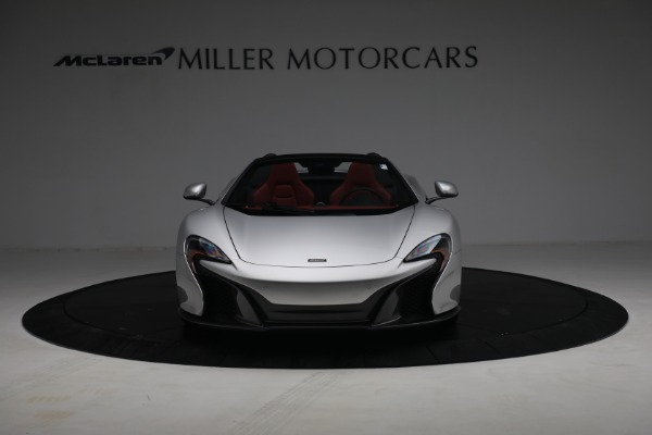 Used 2015 McLaren 650S Spider for sale $179,990 at Alfa Romeo of Greenwich in Greenwich CT 06830 11